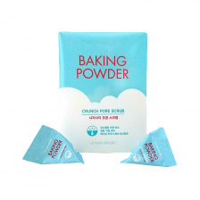 Etude House Baking Powder Crunch Pore Scrub, 1шт / Скраб для лица с содой в пирамидках