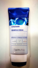 FARMSTAY Collagen Water Full Moist Primer BB Cream SPF50 PA+++/Корейская косметика.